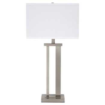 Aniela - Silver Finish - Metal Table Lamp (2/CN)