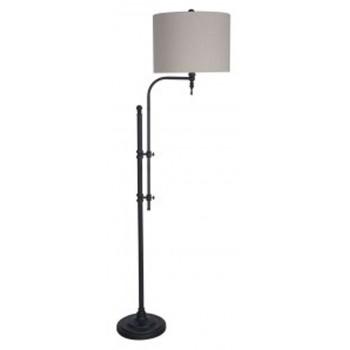 Anemoon black metal floor lamp 1cn l734251 lamps rudy anemoon black metal floor lamp 1cn l734251 lamps rudy furniture mozeypictures Gallery