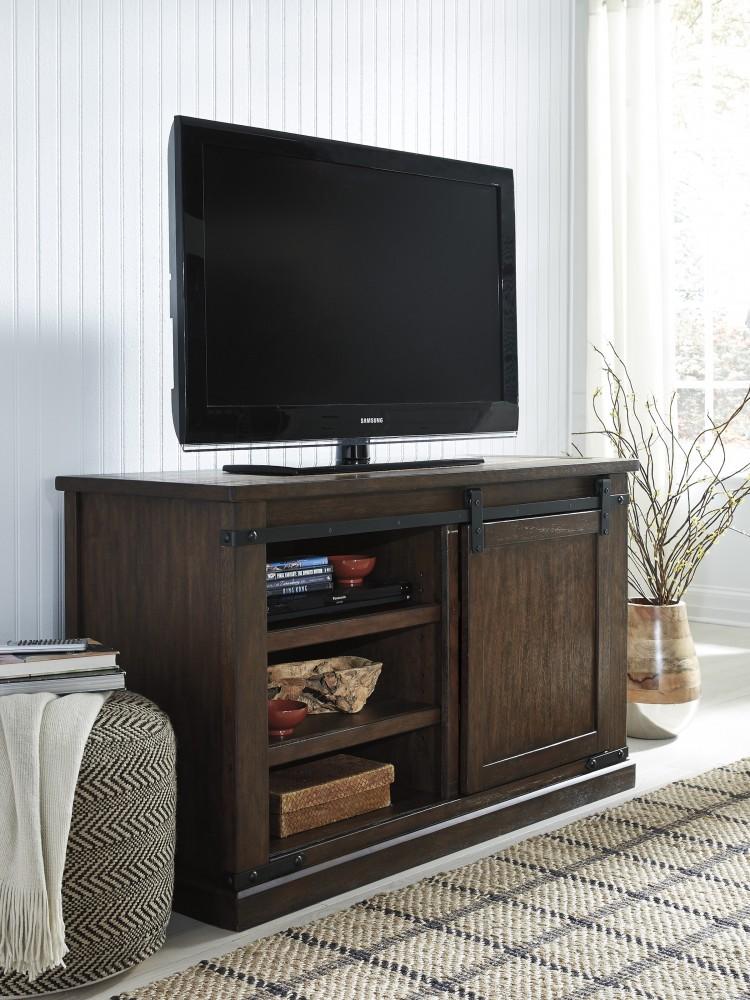 Budmore - Rustic Brown - Medium TV Stand