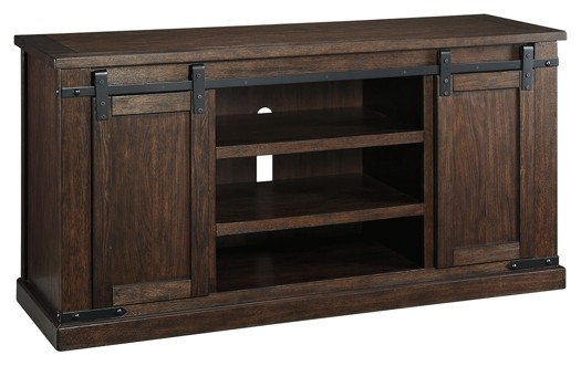 Charmant Budmore   Rustic Brown   Large TV Stand