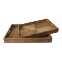 Dewitt - Brown - Tray Set (2/CN)
