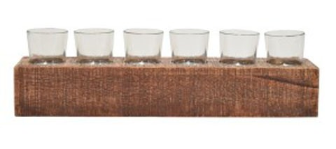 Cassandra - Brown - Candle Holder