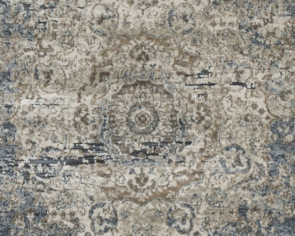South Blue Tan Medium Rug R402722 Rugs Price
