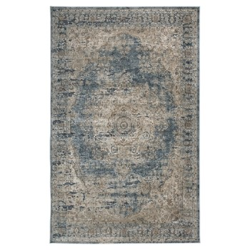 South - Blue/Tan - Medium Rug