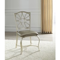 Shollyn - Silver - Dining UPH Side Chair (4/CN)
