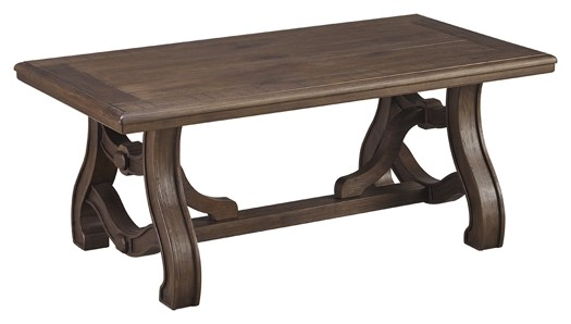 Tanobay - Gray - Rectangular Cocktail Table