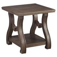 Tanobay - Gray - Square End Table
