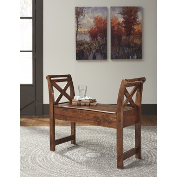Abbonto - Warm Brown - Accent Bench