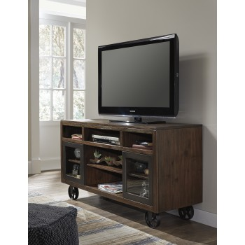 Barnallow - Brown - Large TV Stand