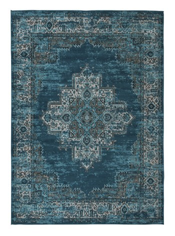 Moore - Blue/Teal - Large Rug