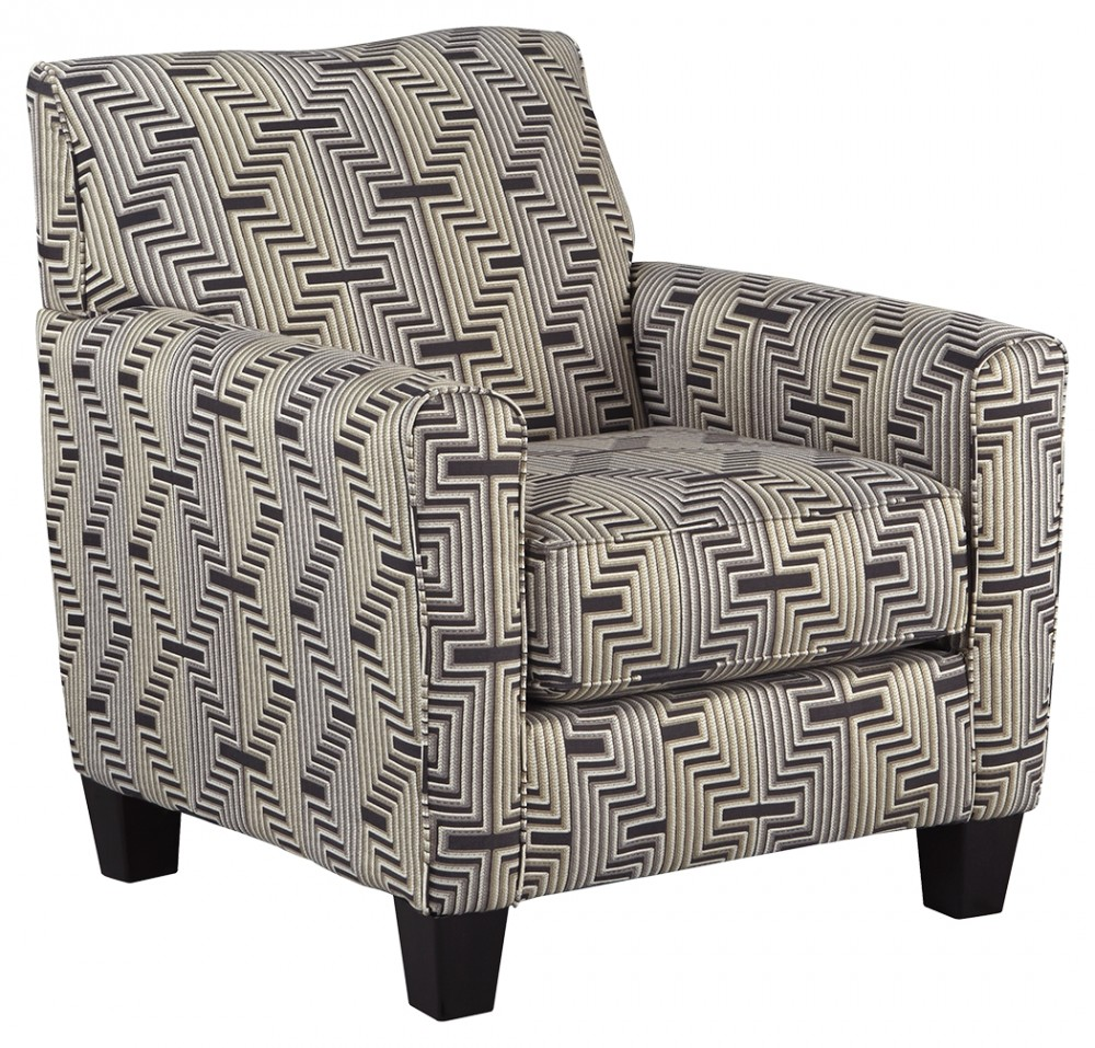 Torcello Graphite Accent Chair