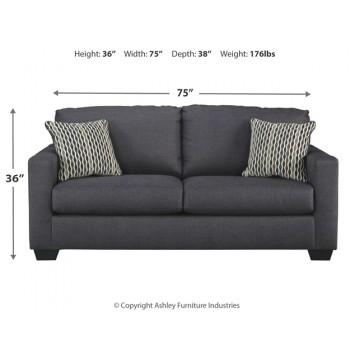 Bavello - Indigo - Full Sofa Sleeper
