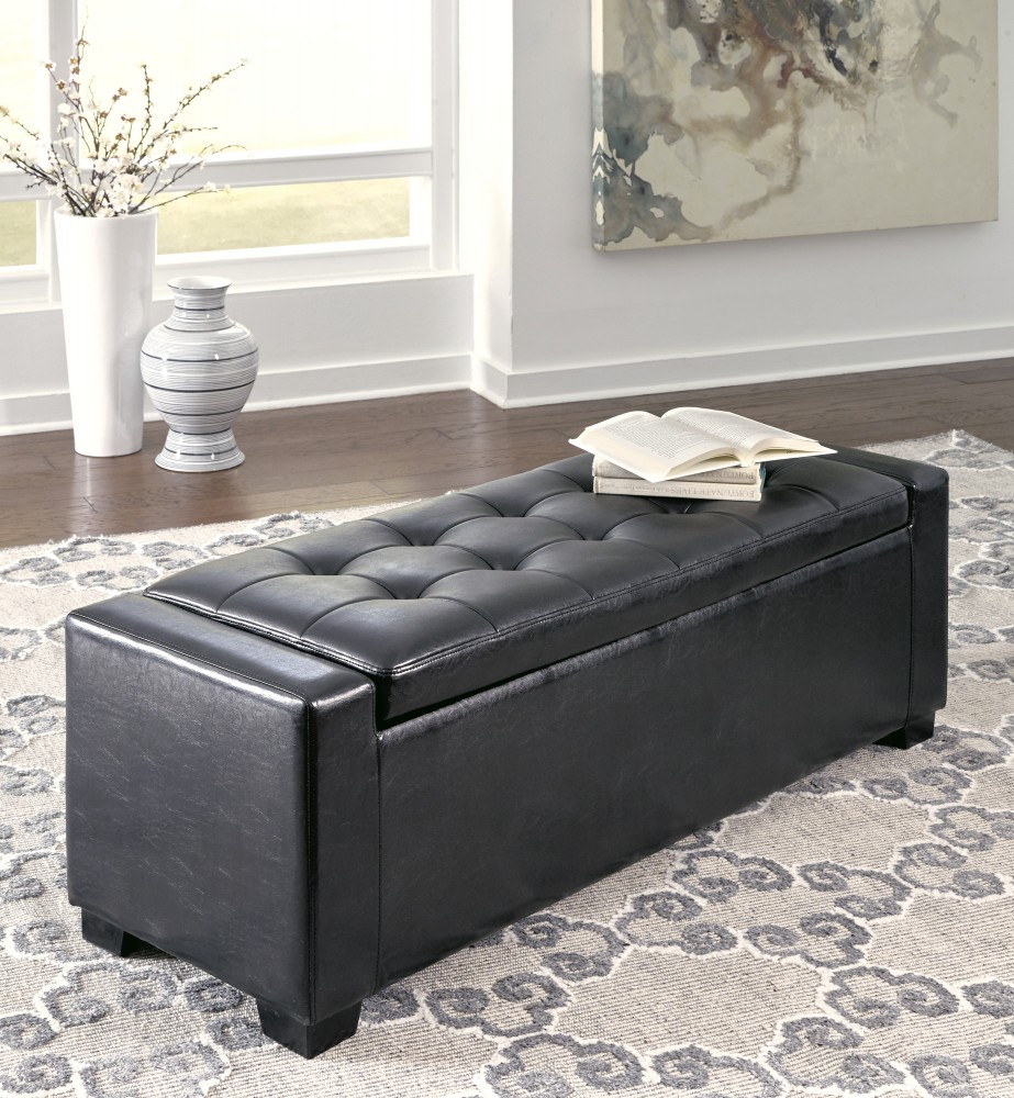 Benches Multi Upholstered Storage Bench B010 209 Benches Brown Furniture Appliances