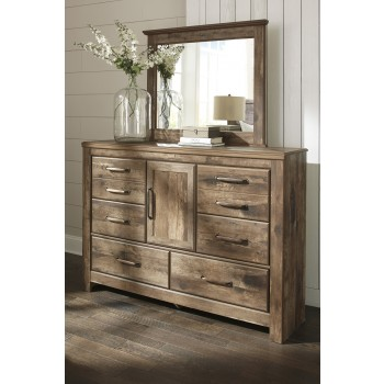 Blaneville - Brown - Bedroom Mirror