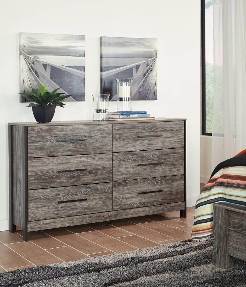 Cazenfeld dresser b227 31 bedroom dressers price - Black and grey bedroom furniture ...