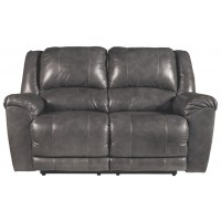 Persiphone - Charcoal - Reclining Loveseat