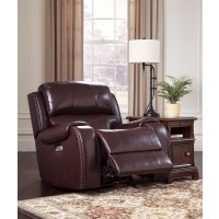 Gilmanton - Burgundy - PWR Rocker REC/ADJ Headrest