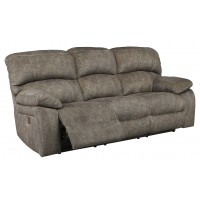 Cannelton - Tri-tone Gray - PWR REC Sofa with ADJ Headrest