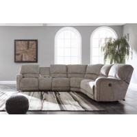 Pittsfield Left-Arm Facing Power Reclining Loveseat with Console
