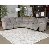 Pittsfield - Fossil - LAF DBL REC PWR CON Loveseat