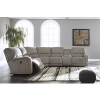 Pittsfield Right-Arm Facing Power Reclining Loveseat with Console