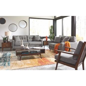 Zardoni - Charcoal - Accent Chair