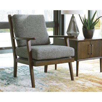 Zardoni - Charcoal - Accent Chair