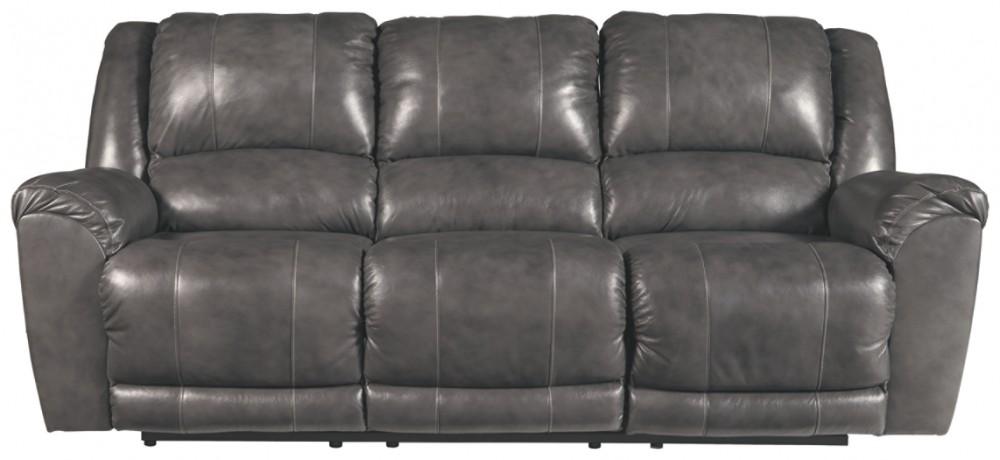 Persiphone - Charcoal - Reclining Sofa