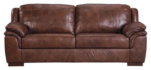 Islebrook - Canyon - Sofa | 1520338 | Leather Sofas | Overstock ...
