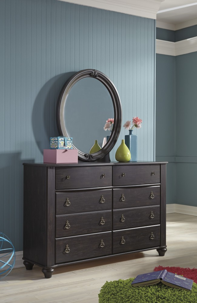 Corilyn - Dark Brown - Dresser