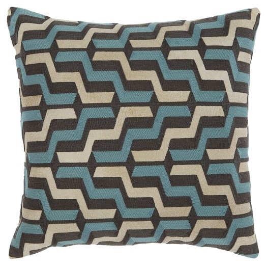 Babette   Blue/Gray   Pillow