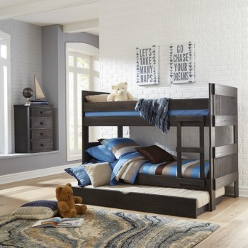 Twin / Twin Panel Bunk Bed
