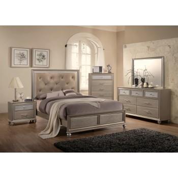 Lila Bedroom Group Dresser, Mirror, Queen Bed