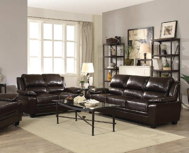Luther Sofa and Love Living Room Set Under $400 | 505561 & 62 ...