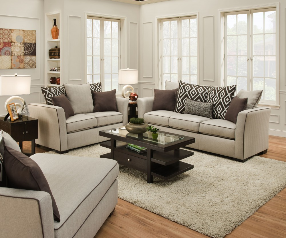 Furniture Living Room Sets Linen