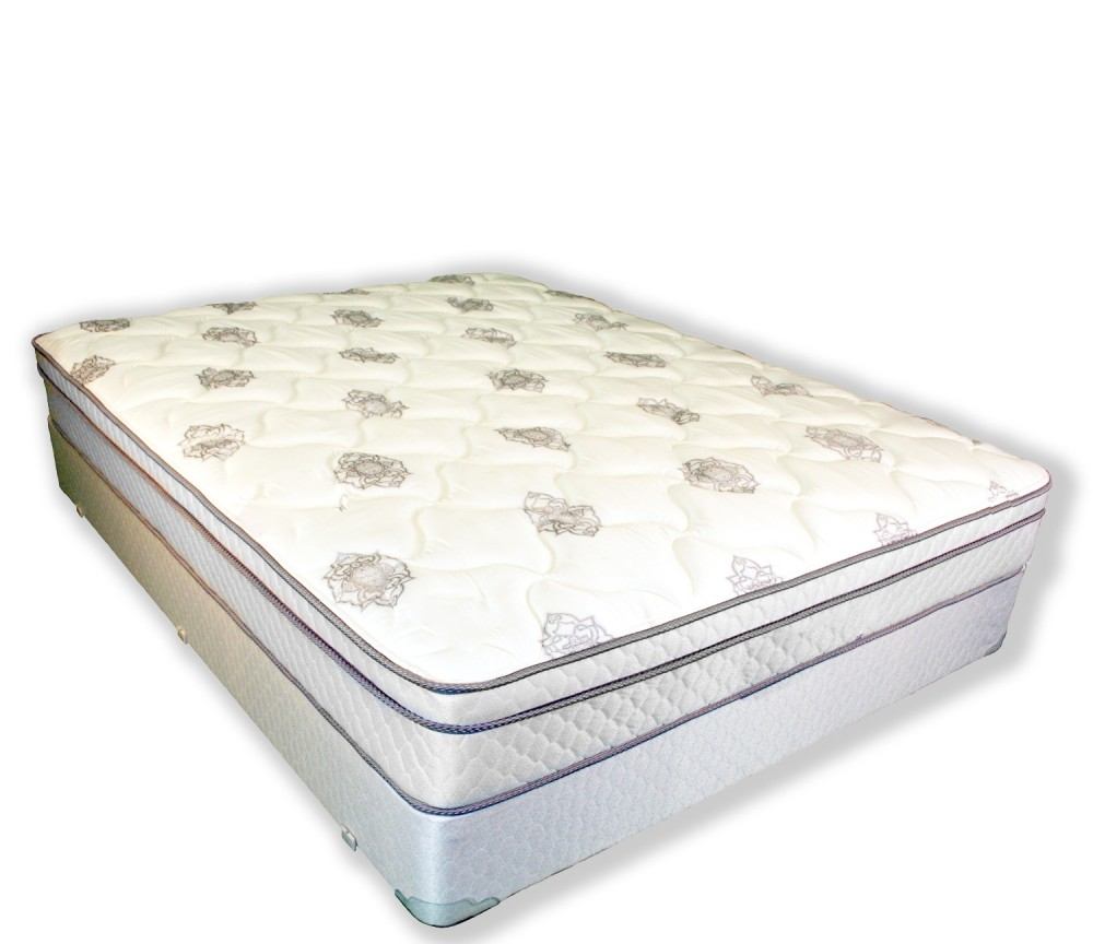 Jupiter Queen Euro Top Mattress and Box Spring