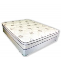 Jupiter Full Euro Top Mattress and Box Spring