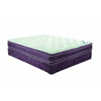 Saturn Double Euro Top Twin Mattress and Boxspring