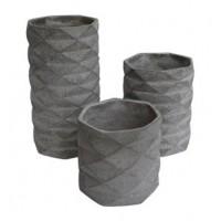 Charlot - Gray - Vase (3/CN)