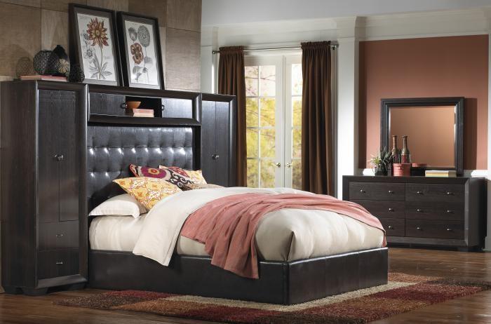 Arketipo Caramel 8pc Bedroom Group