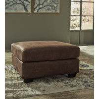 Bladen - Coffee - Oversized Accent Ottoman