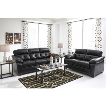 Bastrop DuraBlend - Midnight - Sofa & Loveseat