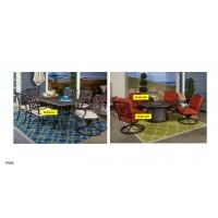 Burnella - Beige/Brown - Seat Cushion