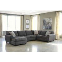 Sorenton - Slate 3 Pc RAF Sofa Sectional