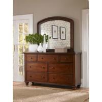 Aspen Cambridge Brown Cherry Dresser