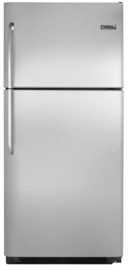 Crosley 18.2 Cubic Foot Refrigerator-Stainless Steel