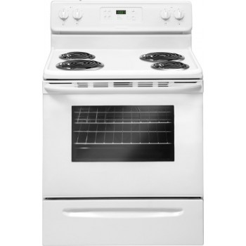 Crosley 5.3 Cubic Foot Range-Self Cleaning-White