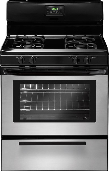 Crosley 4.2 Cubic Foot Gas Range-Stainless