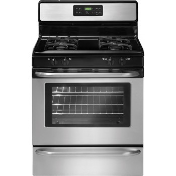 Crosley 5.0 Cubic Foot Self Cleaning Range-Gas  White,Black,Stainless