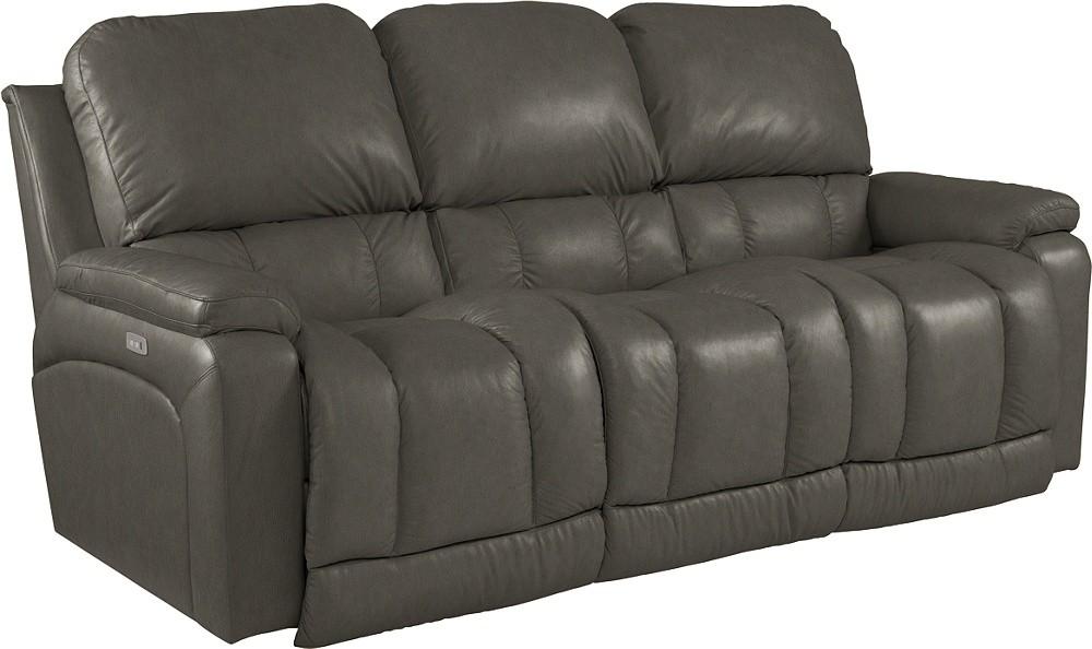 Enjoyable La Z Boy Greyson Charcoal Sofa 440 530 Lg1045 58 Leather Cjindustries Chair Design For Home Cjindustriesco